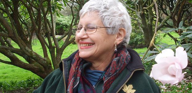 Bella Vivante in Scotland garden