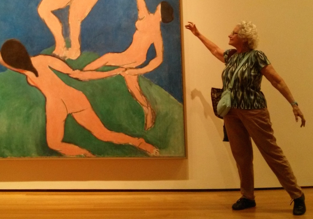 Bella dances with Matisse