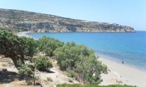 Crete, Kommos beach