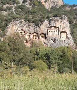 Lycian Rock Tombs, Dalyan, Turkey