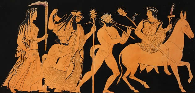 Procession from The Bacchae