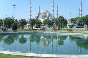 "Sultanahmet Camii, ""The Blue Mosque,"" Istanbul, Turkey"