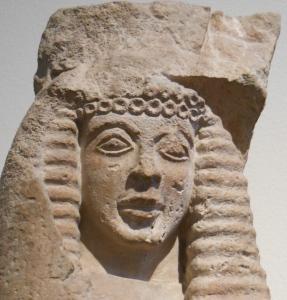 Archaic Fem. head, Athns Natl Mus