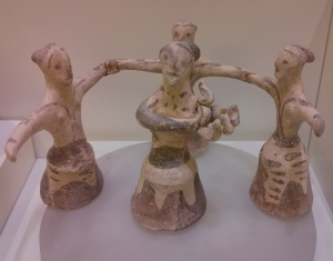 Minoan dancing women